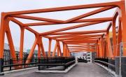 Rokkiporkkana kuva sillan päädystä, rakennusvaihe
