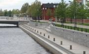 Kiikelin asuntojen rantamuurit, Oulu
