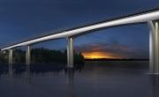 Kuvasovitus Vekarasalmen sillasta
